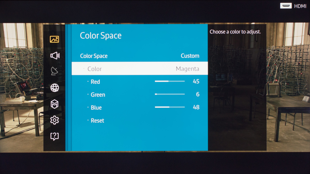 Samsung JU7100 Calibration Settings 13