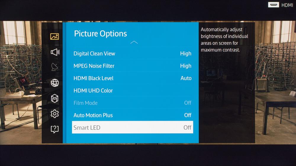 Samsung JU7100 Calibration Settings 3