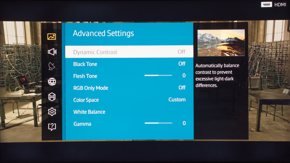 Samsung JU6700 Calibration Settings 22