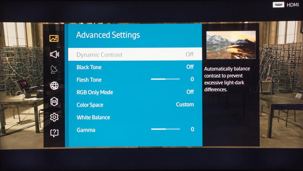 Samsung JU6700 Calibration Settings 22