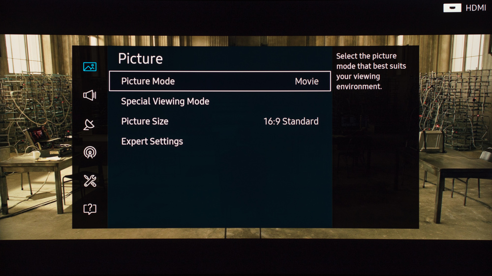 Samsung KS9500 Calibration Settings 1