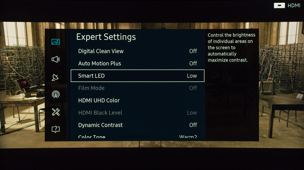 Samsung KS9500 Calibration Settings 3
