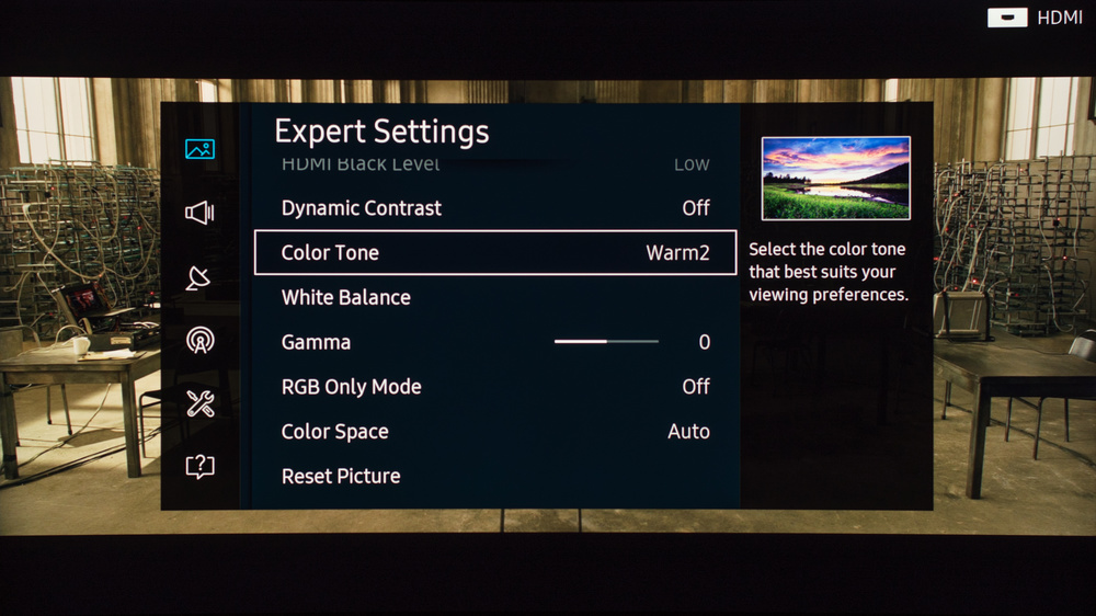 Samsung KS9500 Calibration Settings 4
