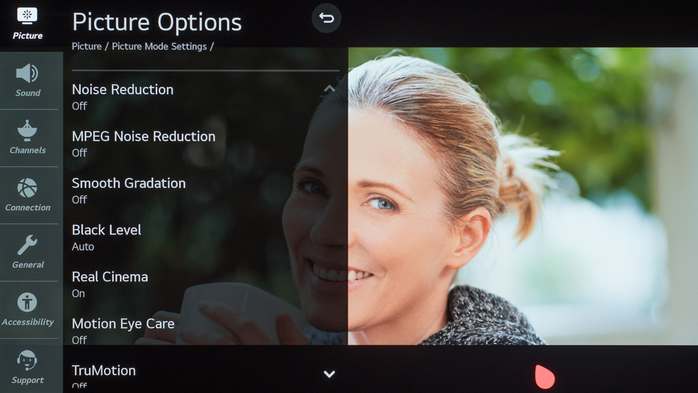 LG CX OLED Calibration Settings 39