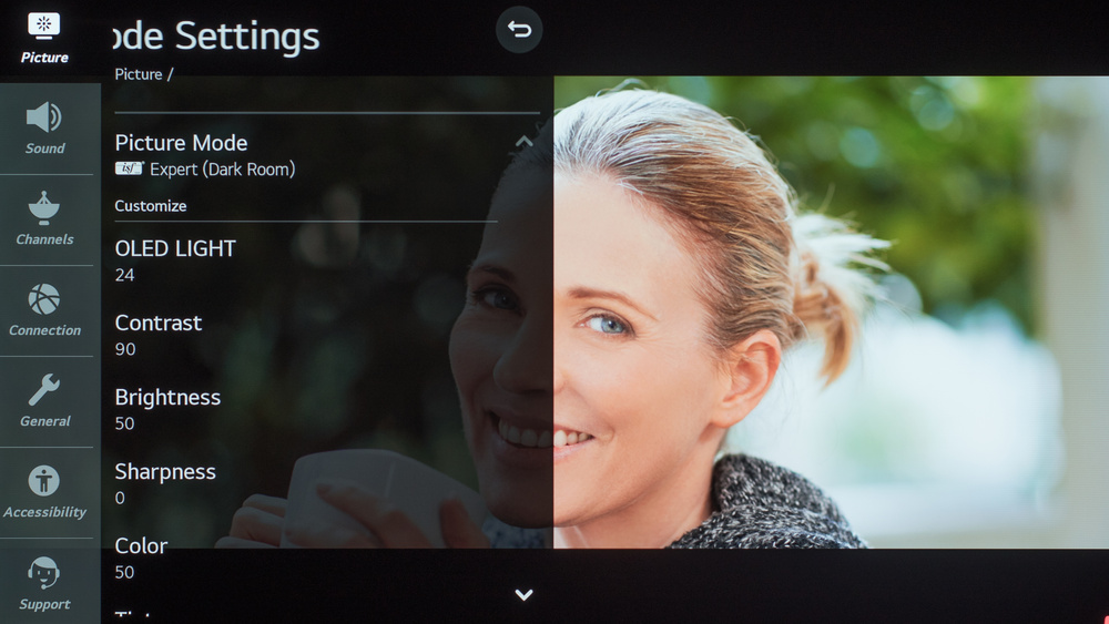 LG CX OLED Calibration Settings 4
