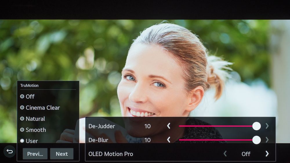 LG CX OLED Calibration Settings 46