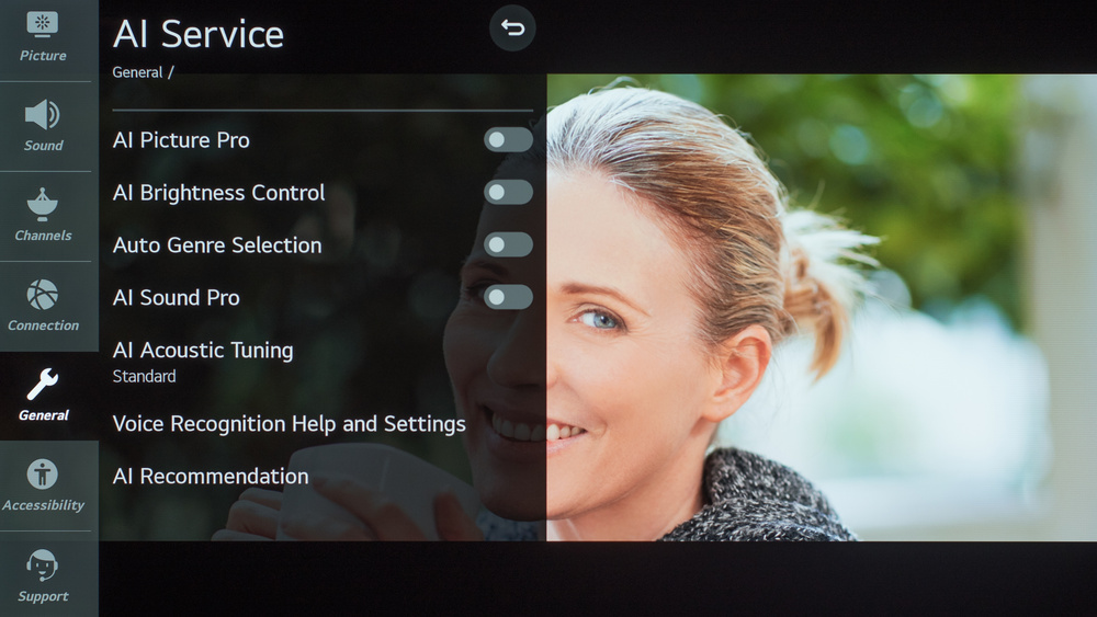 LG CX OLED Calibration Settings 72