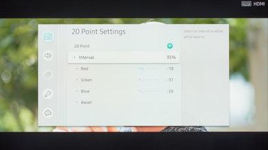 Samsung MU6100 Calibration Settings 17