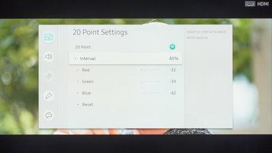 Samsung MU6100 Calibration Settings 19