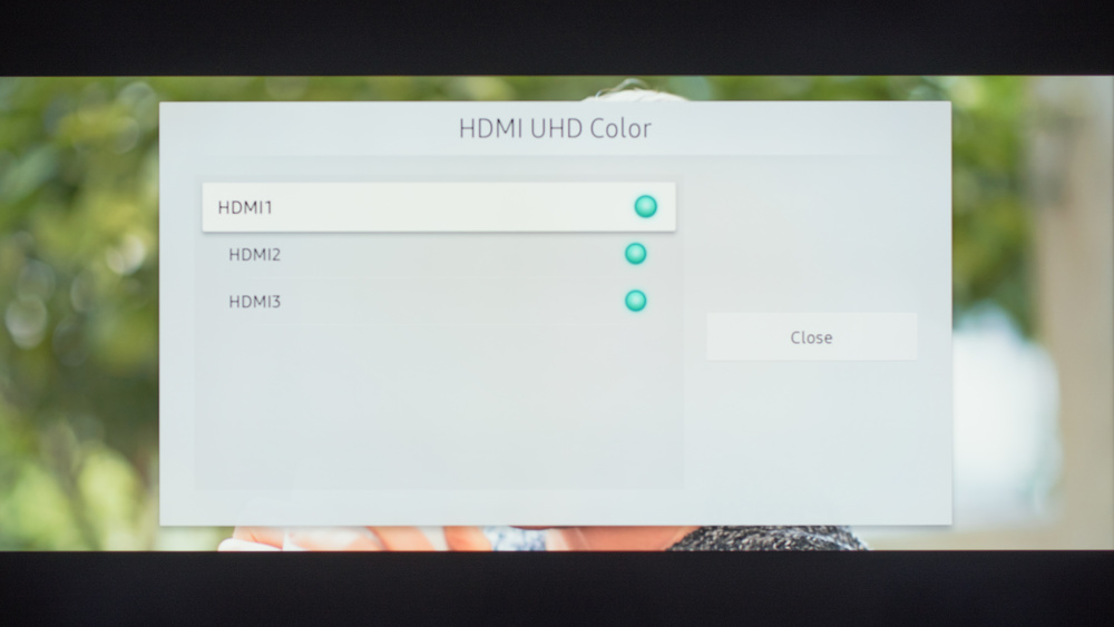 Samsung MU6100 Calibration Settings 46