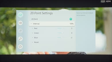 Samsung NU7300 Calibration Settings 16
