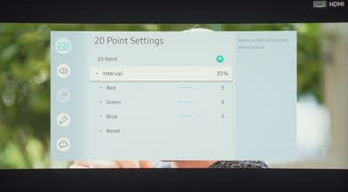 Samsung NU7300 Calibration Settings 21