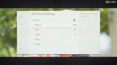 Samsung MU6290 Calibration Settings 26