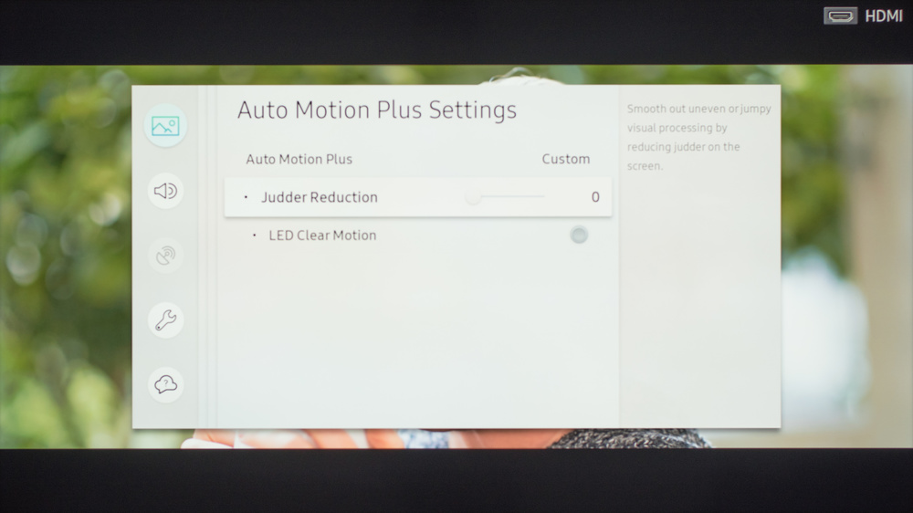 Samsung MU6290 Calibration Settings 6