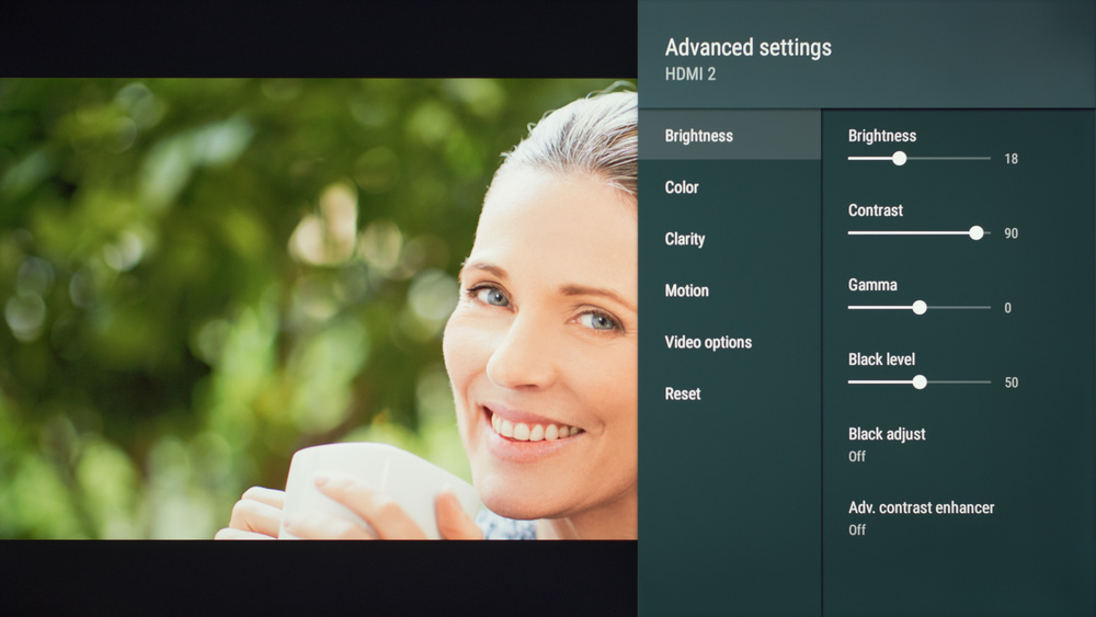 Sony X800G Calibration Settings 4