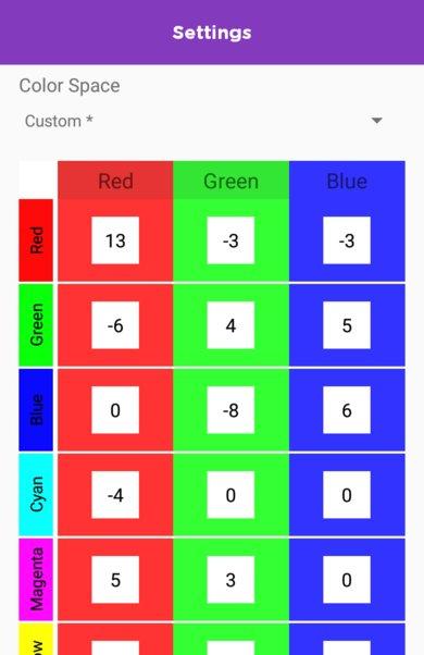TCL 6 Series/R625 2019 Calibration Settings 56