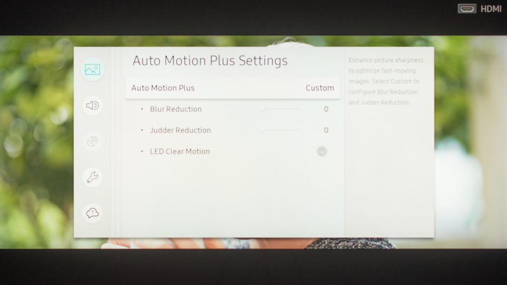 Samsung Q9FN/Q9/Q9F QLED 2018 Calibration Settings 11