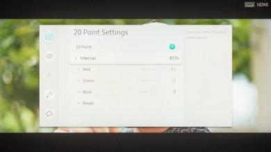 Samsung Q9FN Calibration Settings 30