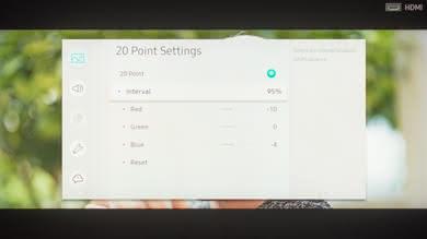 Samsung Q9FN Calibration Settings 32