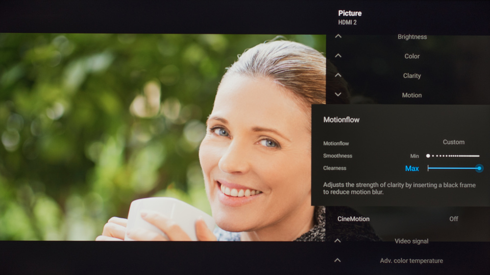 Sony X800H Calibration Settings 65