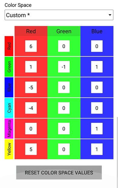 TCL S517 Calibration Settings 36