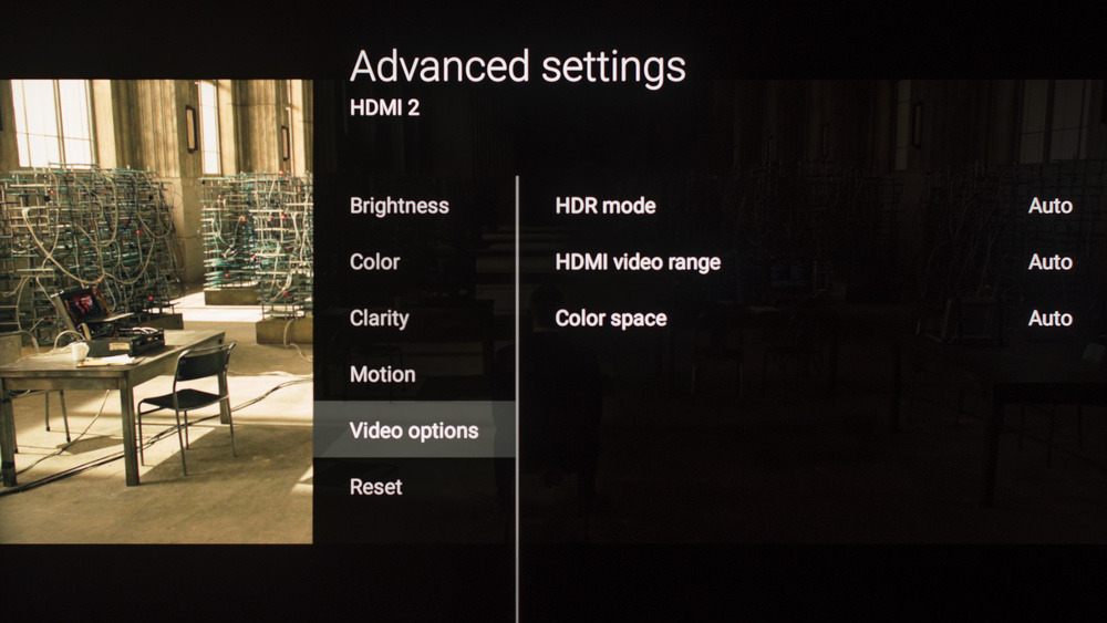 Sony Z9D Calibration Settings 10