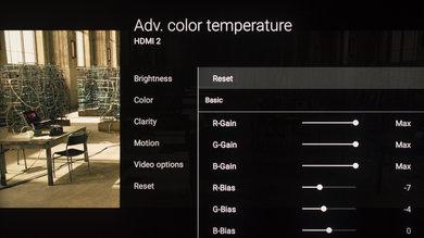 Sony Z9D Calibration Settings 11