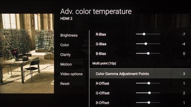 Sony Z9D Calibration Settings 14