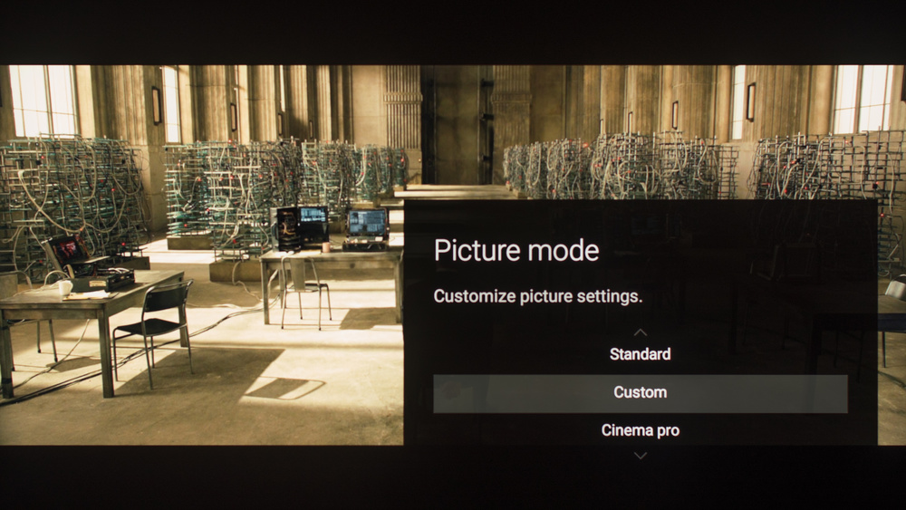 Sony Z9D Calibration Settings 2