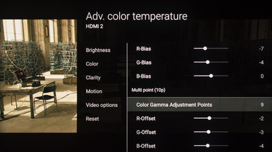 Sony Z9D Calibration Settings 20