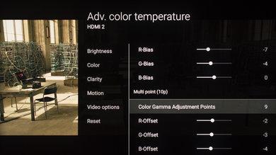 Sony Z9D Calibration Settings 20