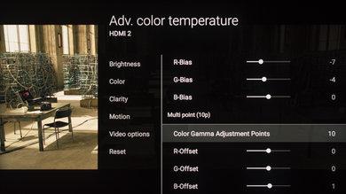 Sony Z9D Calibration Settings 21