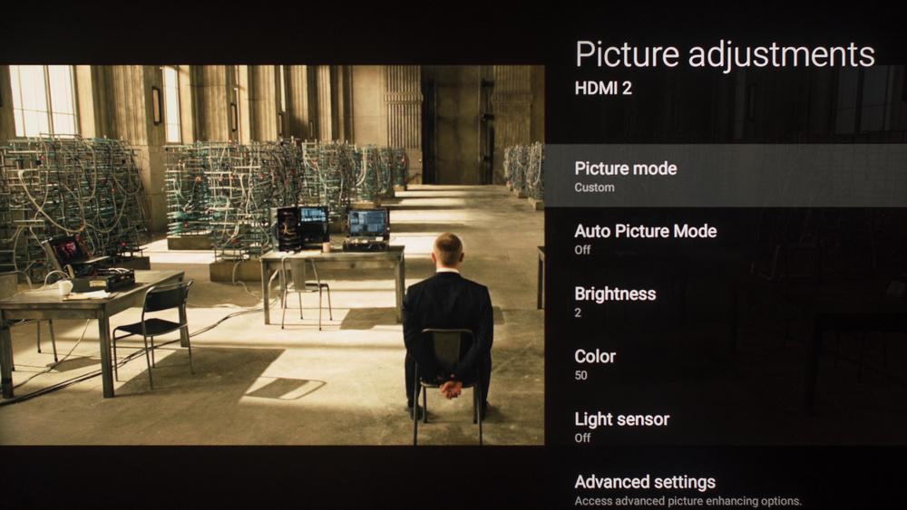 Sony Z9D Calibration Settings 5