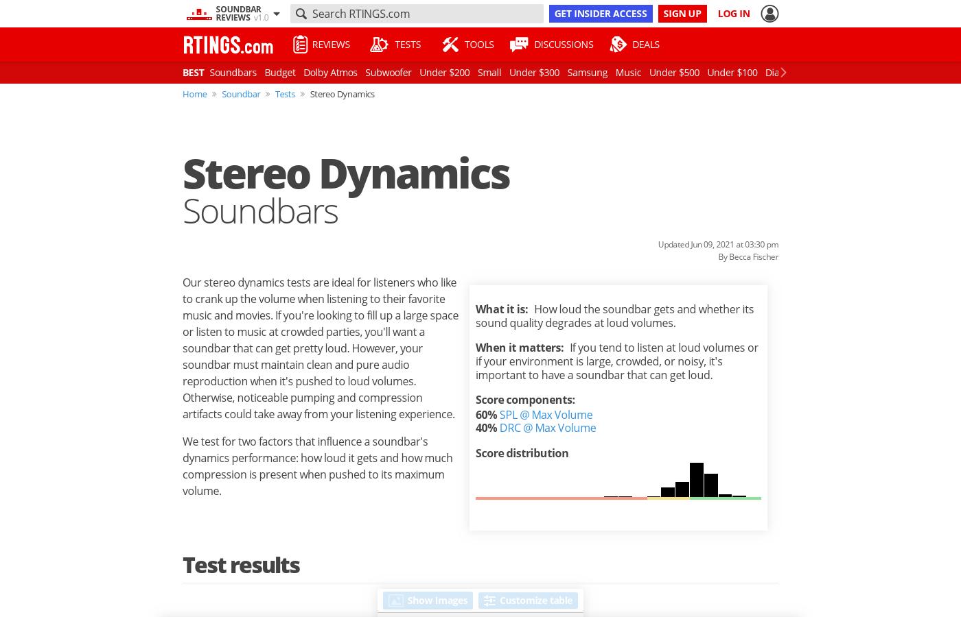 Stereo Dynamics