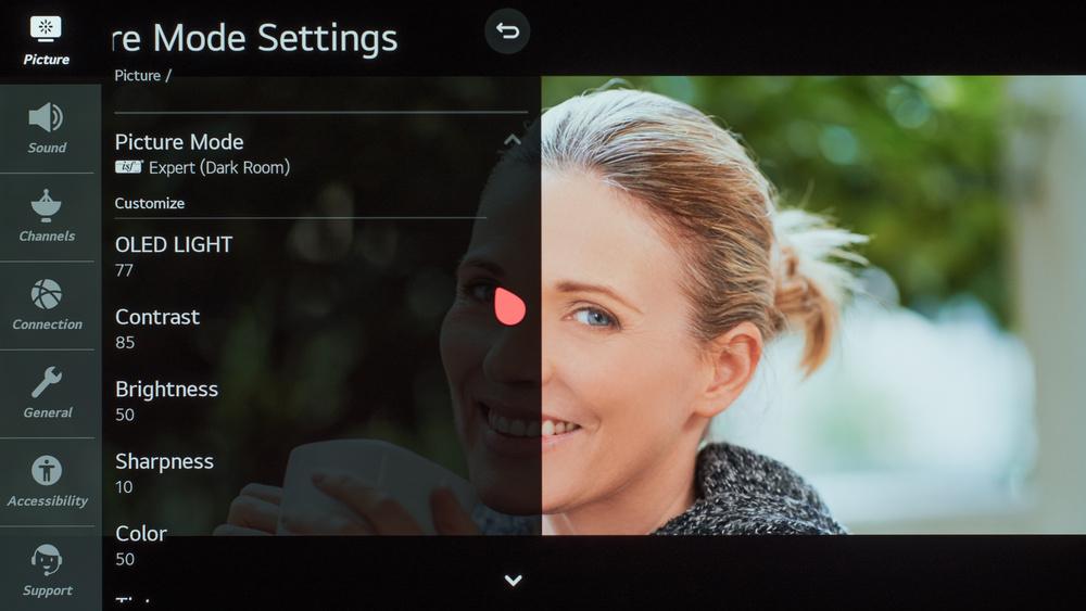 LG GX OLED Calibration Settings 12