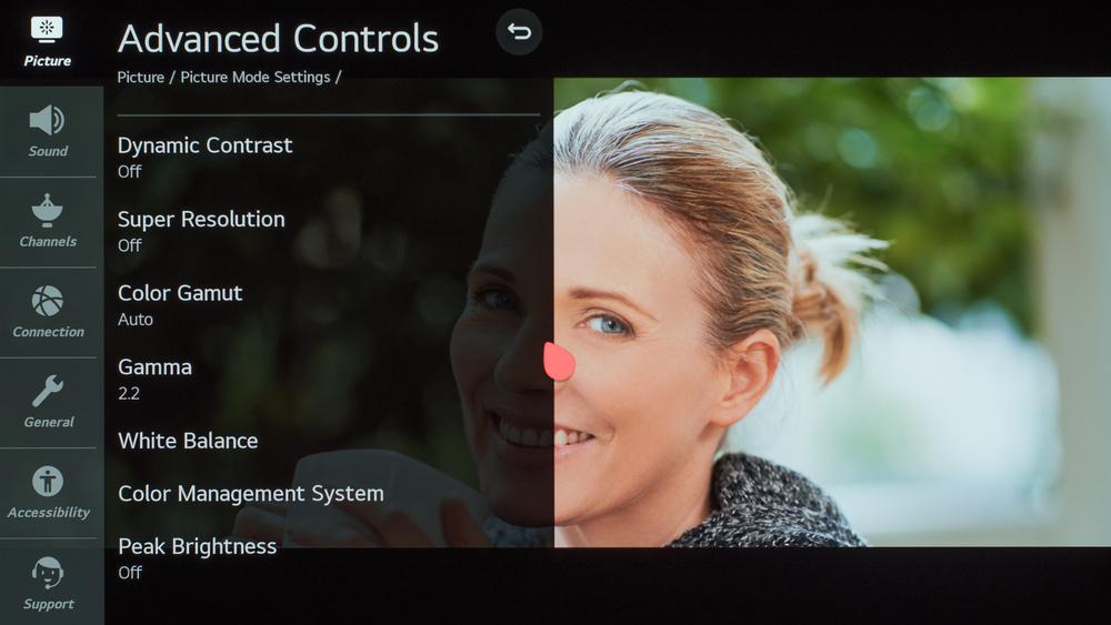 LG GX OLED Calibration Settings 14