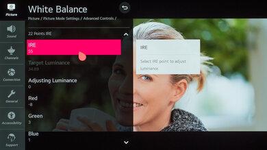 LG GX OLED Calibration Settings 33