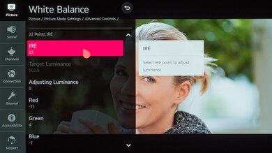 LG GX OLED Calibration Settings 35