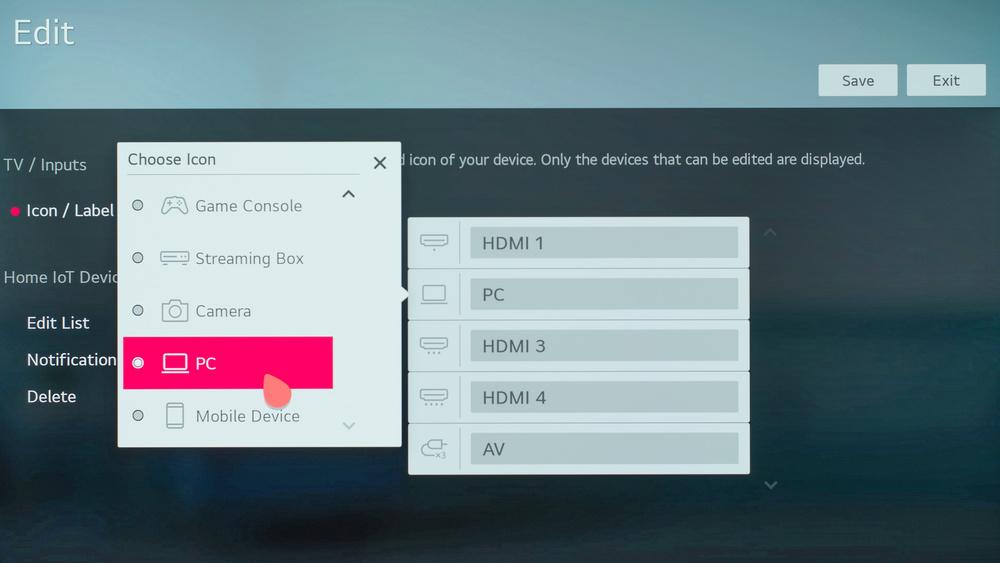 LG GX OLED Calibration Settings 75