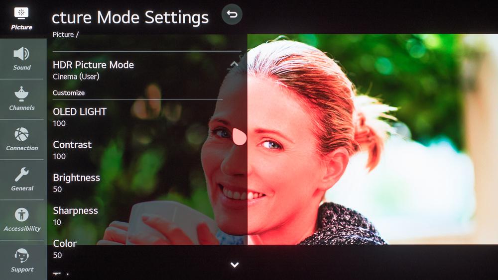 LG GX OLED Calibration Settings 78