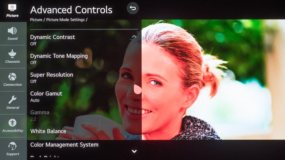 LG GX OLED Calibration Settings 80