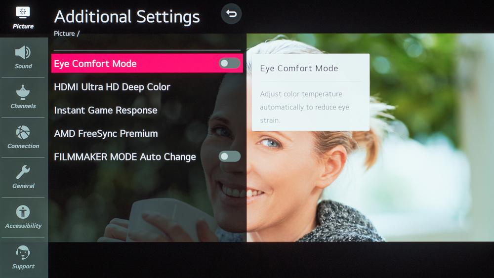 LG BX OLED Calibration Settings 115