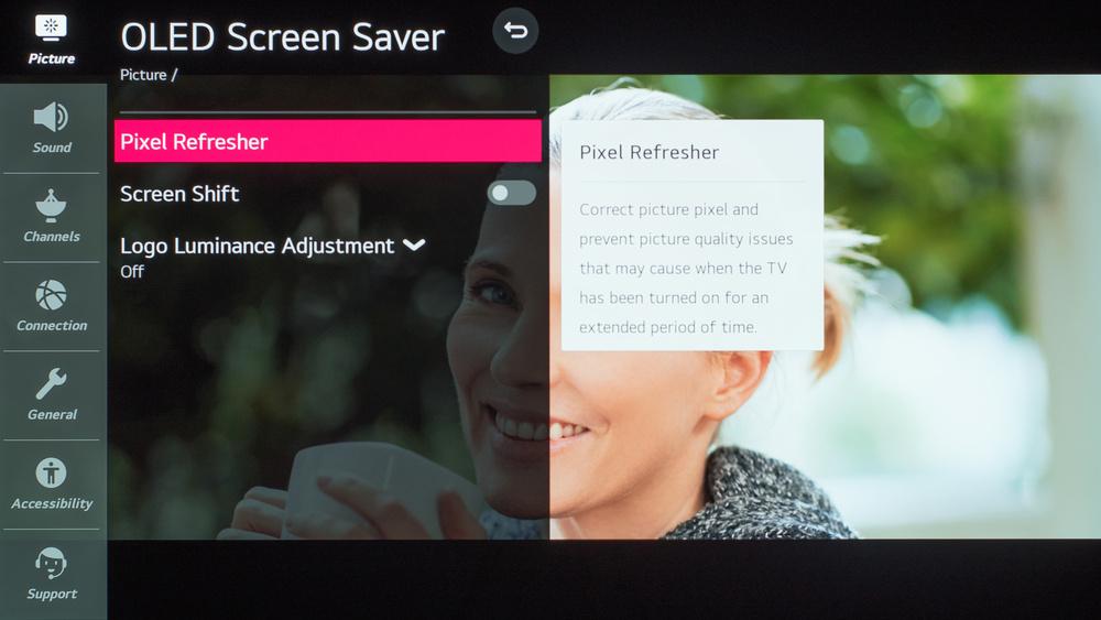 LG BX OLED Calibration Settings 120