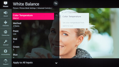 LG BX OLED Calibration Settings 24