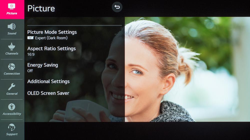 LG BX OLED Calibration Settings 4