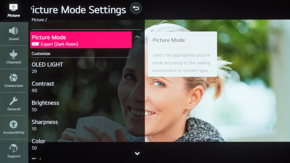 LG BX OLED Calibration Settings 5