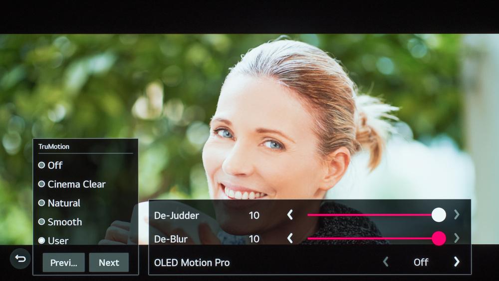 LG BX OLED Calibration Settings 63
