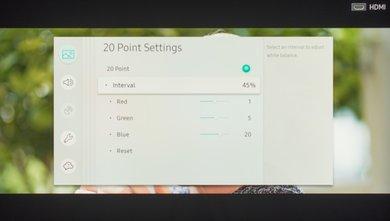 Samsung Q6FN Calibration Settings 20