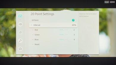 Samsung Q6FN Calibration Settings 24