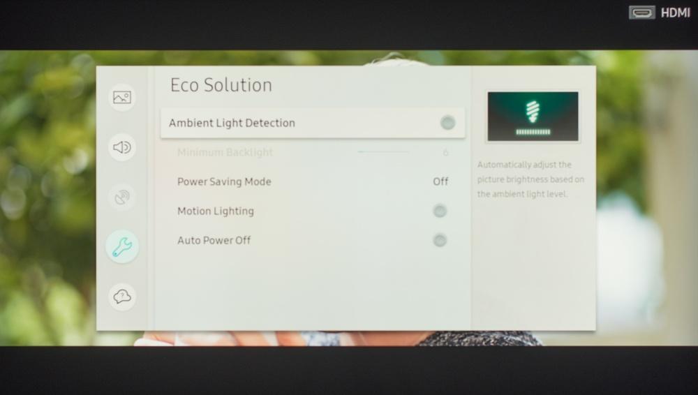 Samsung Q6FN Calibration Settings 40
